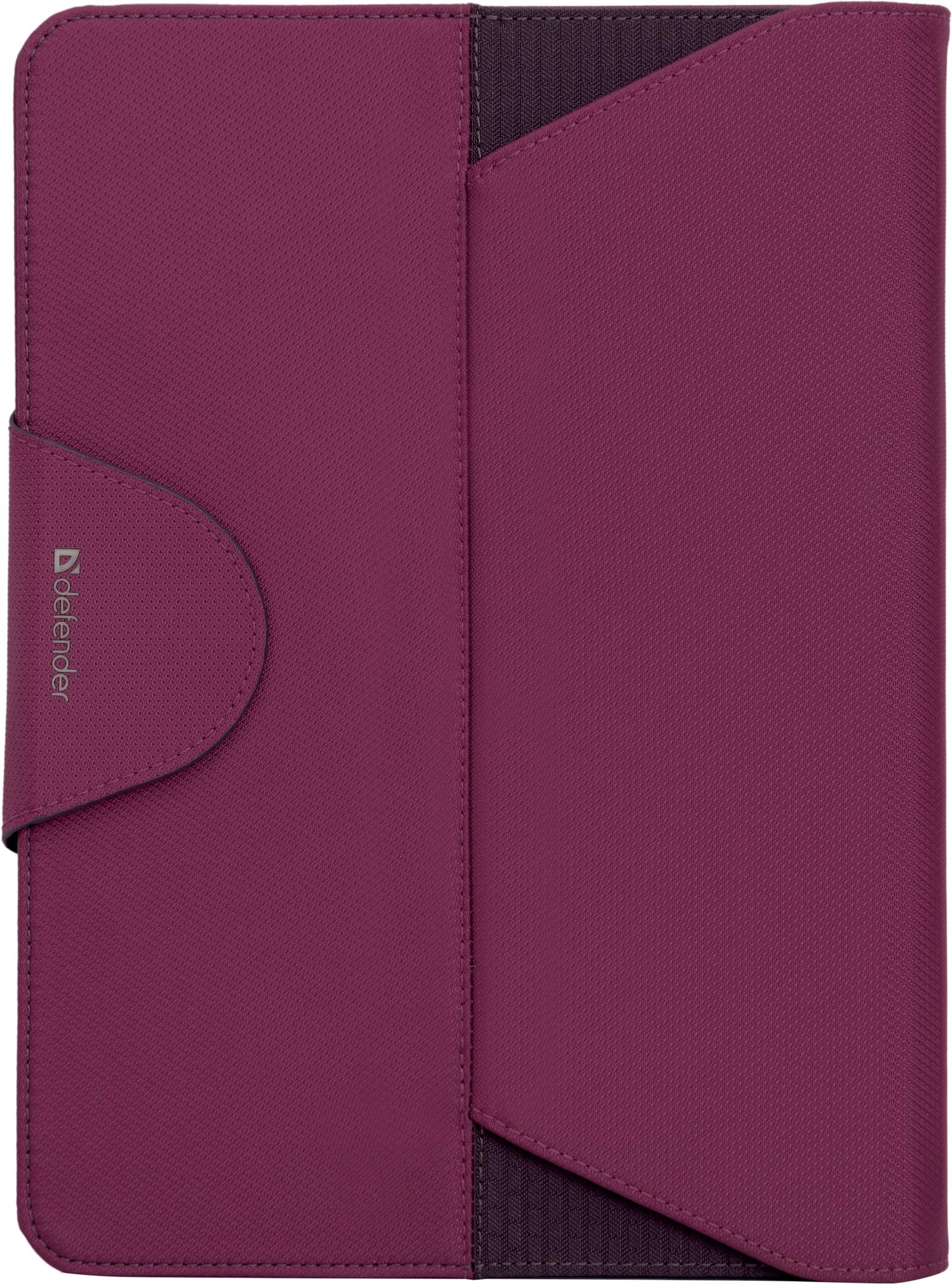 Чехол для планшета Defender Double case, черный, розовый
