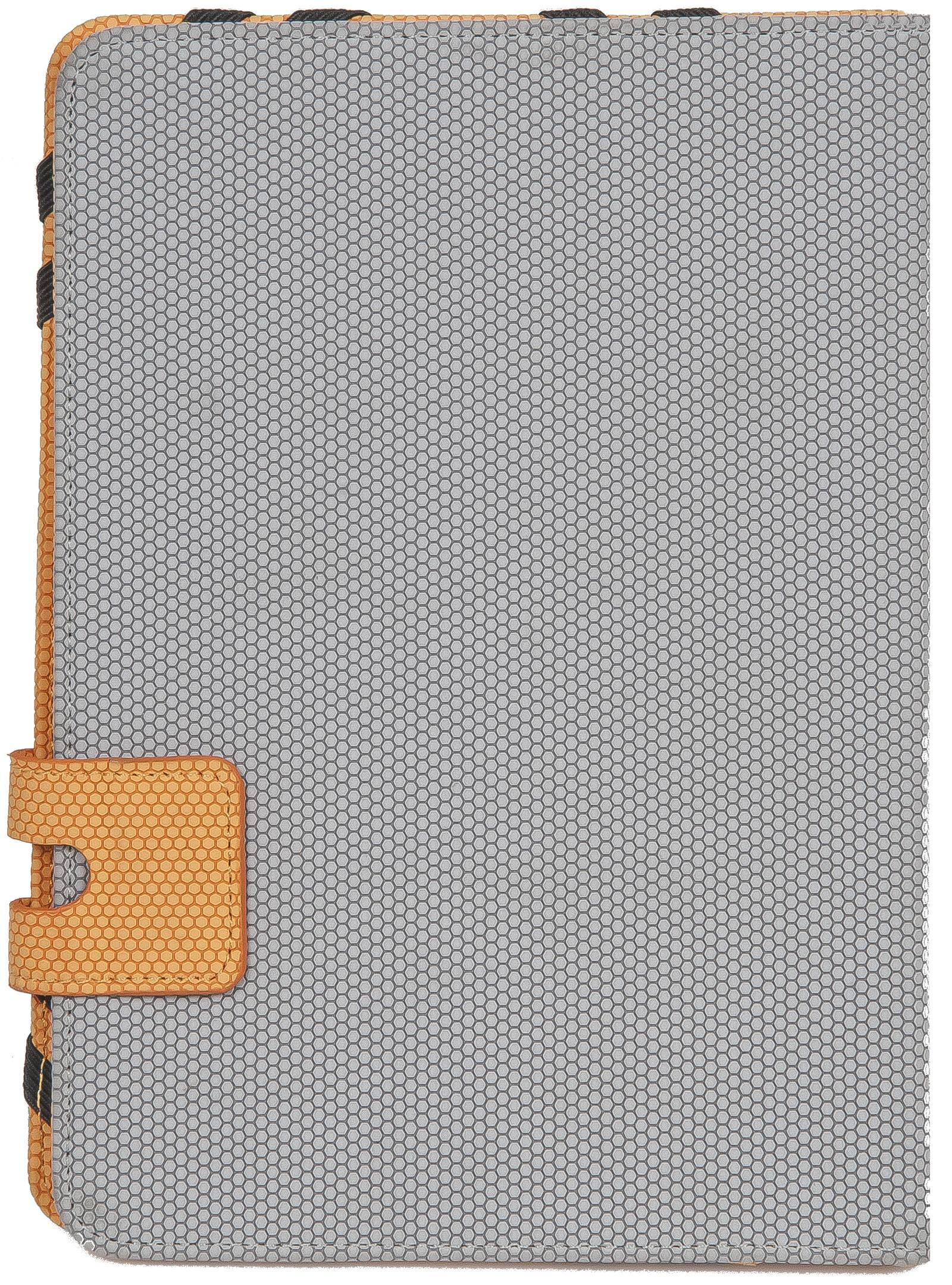 Чехол для планшета Defender Favo uni, 26062, серый, оранжевый цена