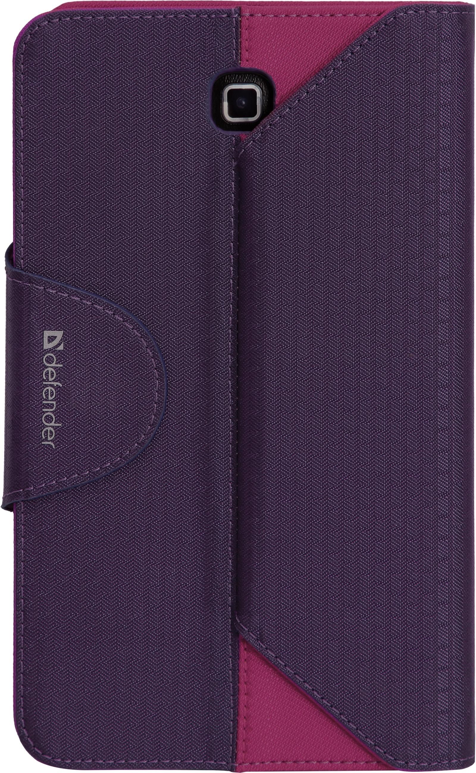 Фото - Чехол для планшета Double case, фиолетовый, розовый видео