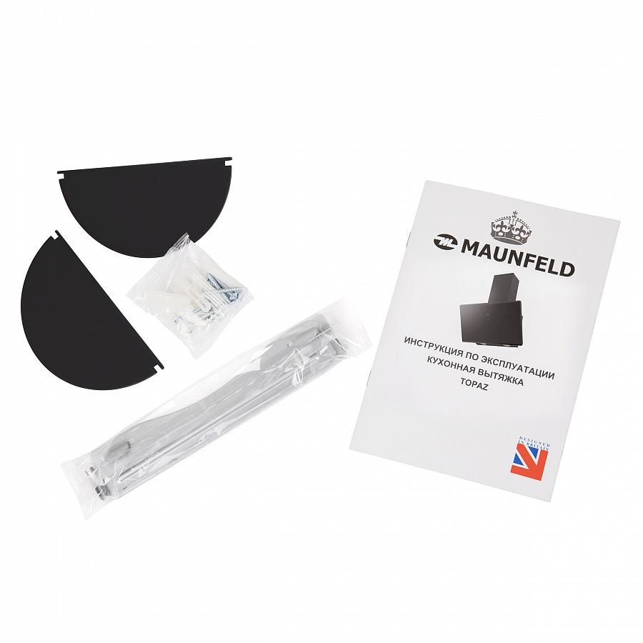 Вытяжка Maunfeld TOPAZ 60 Glass Black, черный Maunfeld