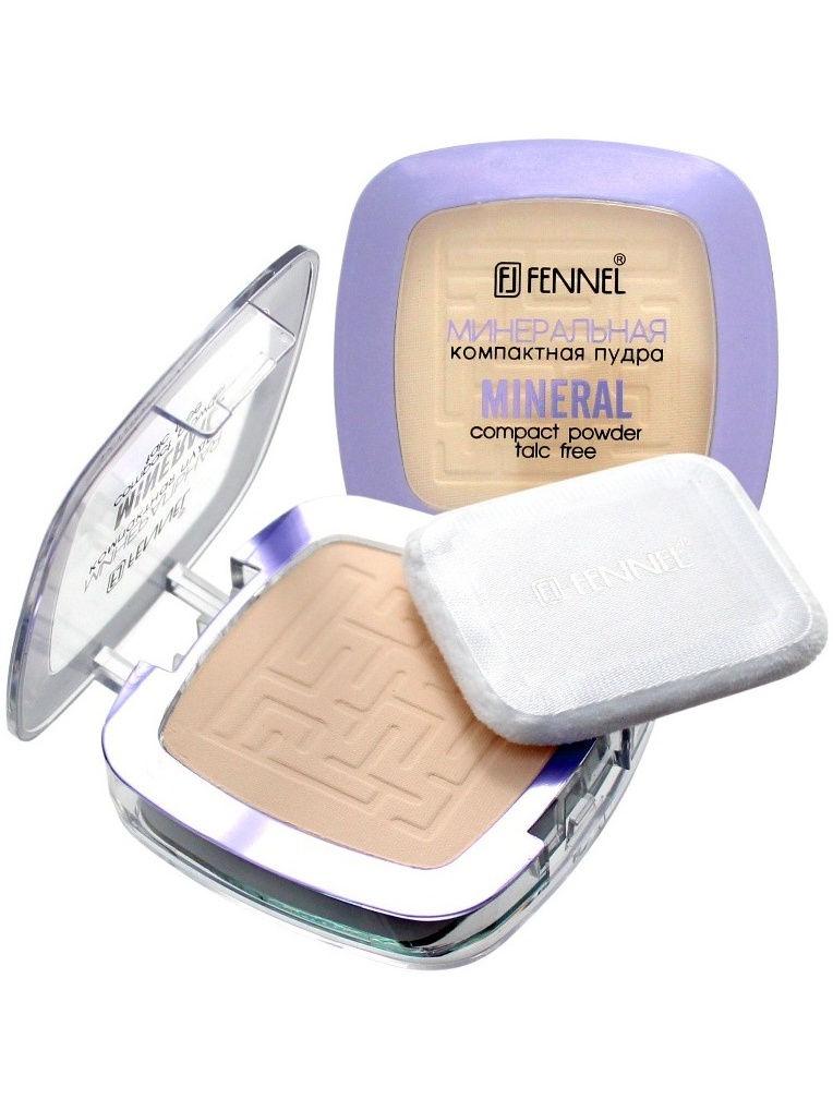 Пудра Fennel FL-2346/B130-FL-2346/BМинеральная компактная пудра с солнцезащитным фильтром SPF-20 обеспечивает равномерное бархатистое покрытие. Уникальная формула c минералами насыщает кожу антиоксидантами, защищает и сохраняет свежий и здоровый вид. Не содержит тальк, подходит для проблемной кожи.