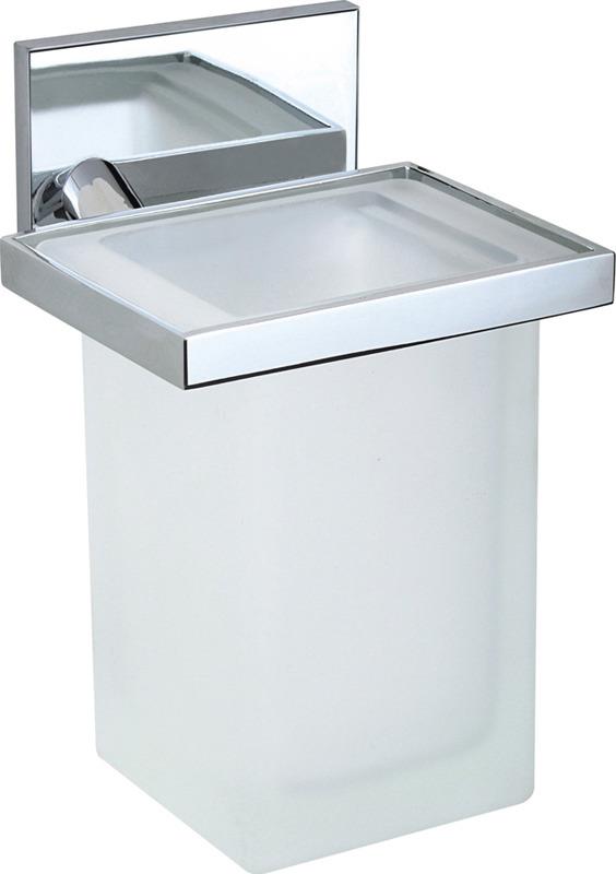 Стакан для ванной комнаты Novella Edizione Cubo, EC-01111, медь
