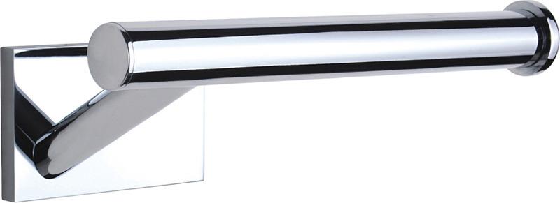Держатель для туалетной бумаги Novella Edizione Cubo, EC-03111EC-03111Novella - ориентируется на высокие стандарты качества, что дает всему ассортименту массу преимуществ являясь самыми востребованными на рынке моделей в категории «Аксессуары для ванной». Многослойное никель-хромовое покрытие обеспечивает идеальный внешний вид изделия, все аксессуары изготовлены из латуни высокого качества с высоким содержанием меди. Срок службы таких аксессуаров до 25 лет. Стекло увеличенной толщины до 5 мм обеспечивает дополнительную гарантию прочности и надежности. Высокое качество используемых материалов дает возможность предоставления гарантии 5 лет на все аксессуары. Novella - вдохновляет на творчество в оформлении Вашей ванной!