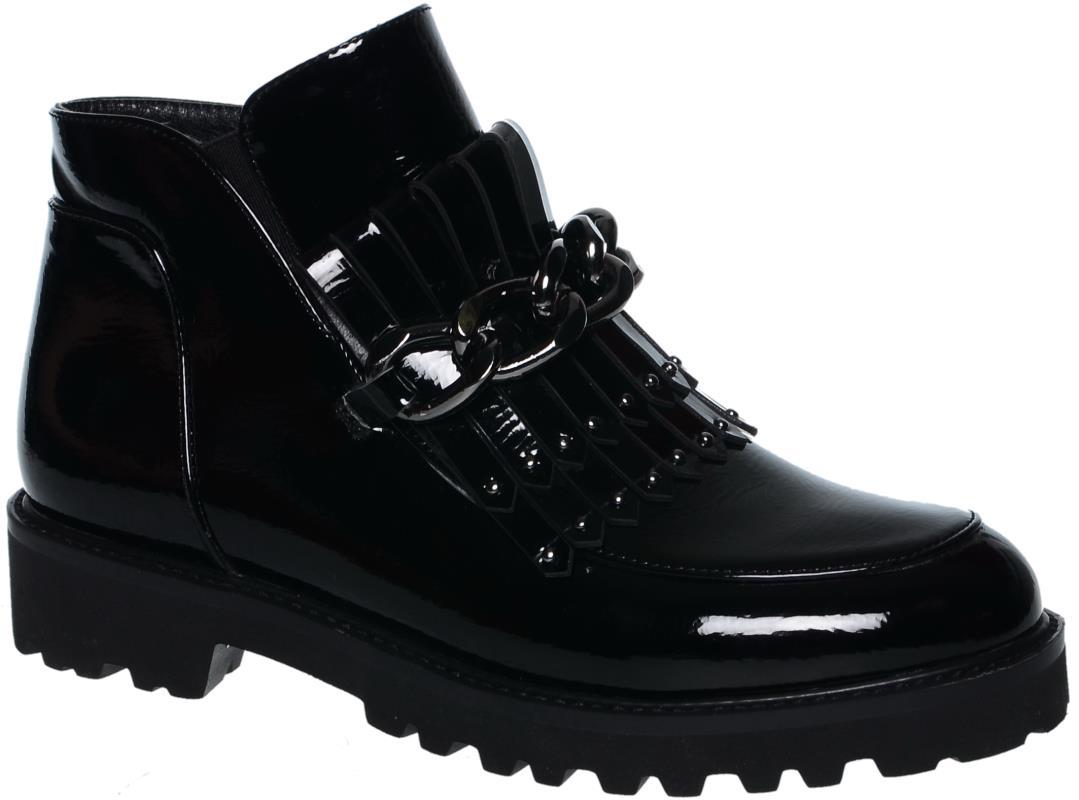 Ботинки для девочки KENKA, цвет: черный. TAF_9268-73_black. Размер 34TAF_9268-73_blackДемисезонные ботинки KENKA для девочек из искусственной кожи,с утепленной подкладкой. Подошва изготовлена из практичного и безопасного термоэластопласта. Ботинки подходят для активного отдыха Удобная колодка.