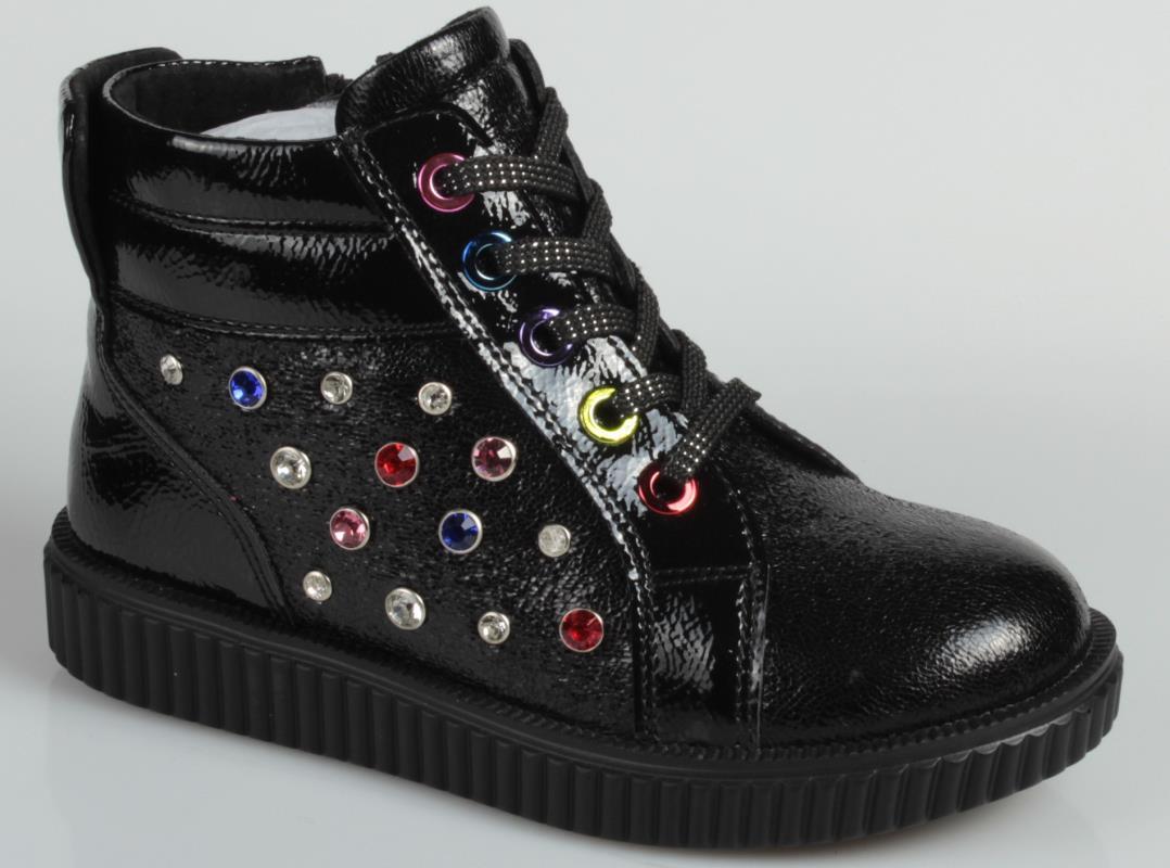 8b1392204816d Ботинки для девочки kenka цвет синий vvt_71104 1_navy размер 33 ...