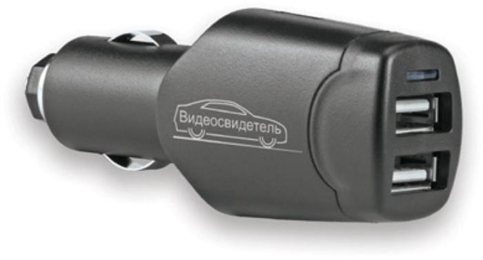 Розетка прикуривателя Видеосвидетель VSR-002, VSR-002, черный цена