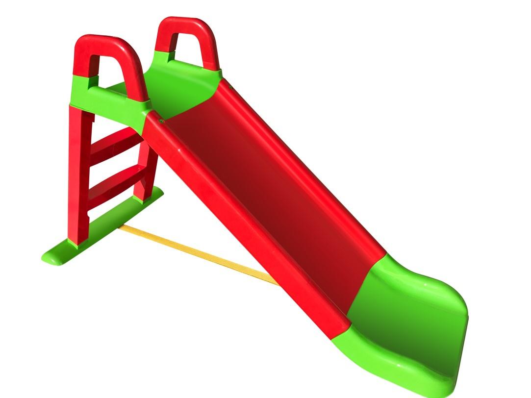 Детская горка Doloni Развлечение зеленый, красный детская горка doloni развлечение желтый синий