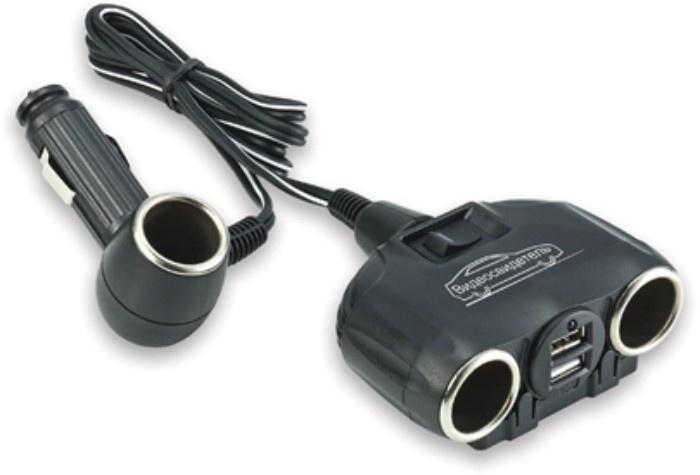 Розетка прикуривателя Видеосвидетель VSR-P-032, VSR-P-032, черный цена