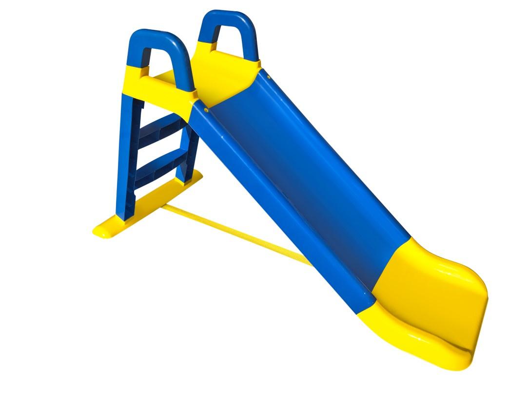 Детская горка Doloni Развлечение желтый, синий детская горка doloni развлечение желтый синий