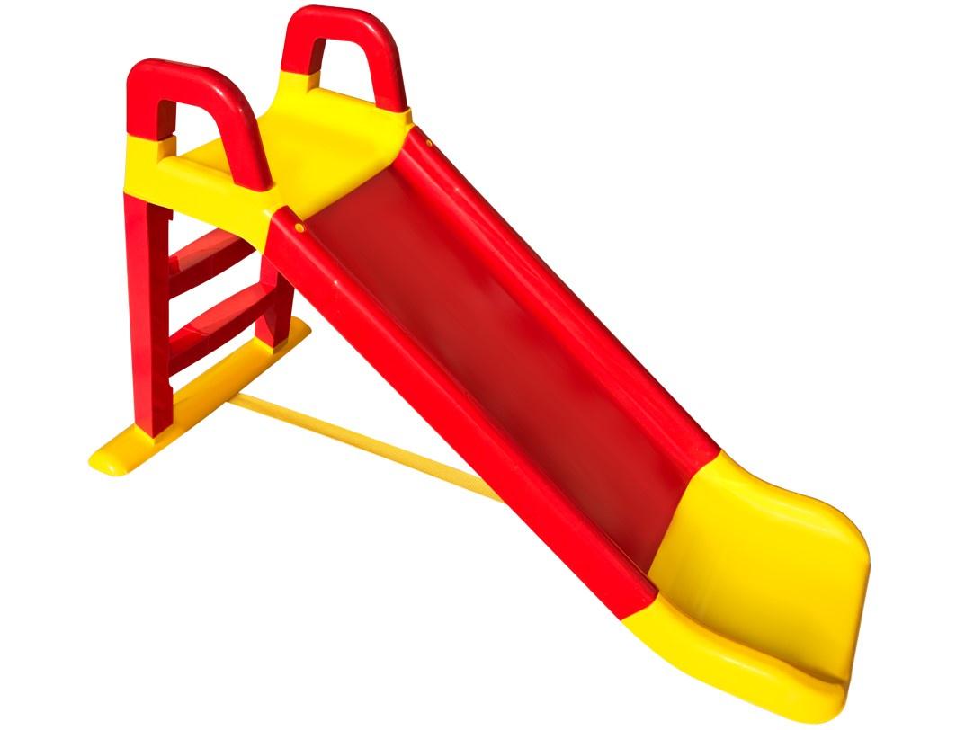 Детская горка Doloni Развлечение желтый, красный горка doloni весёлый спуск зеленый красный 0140 01