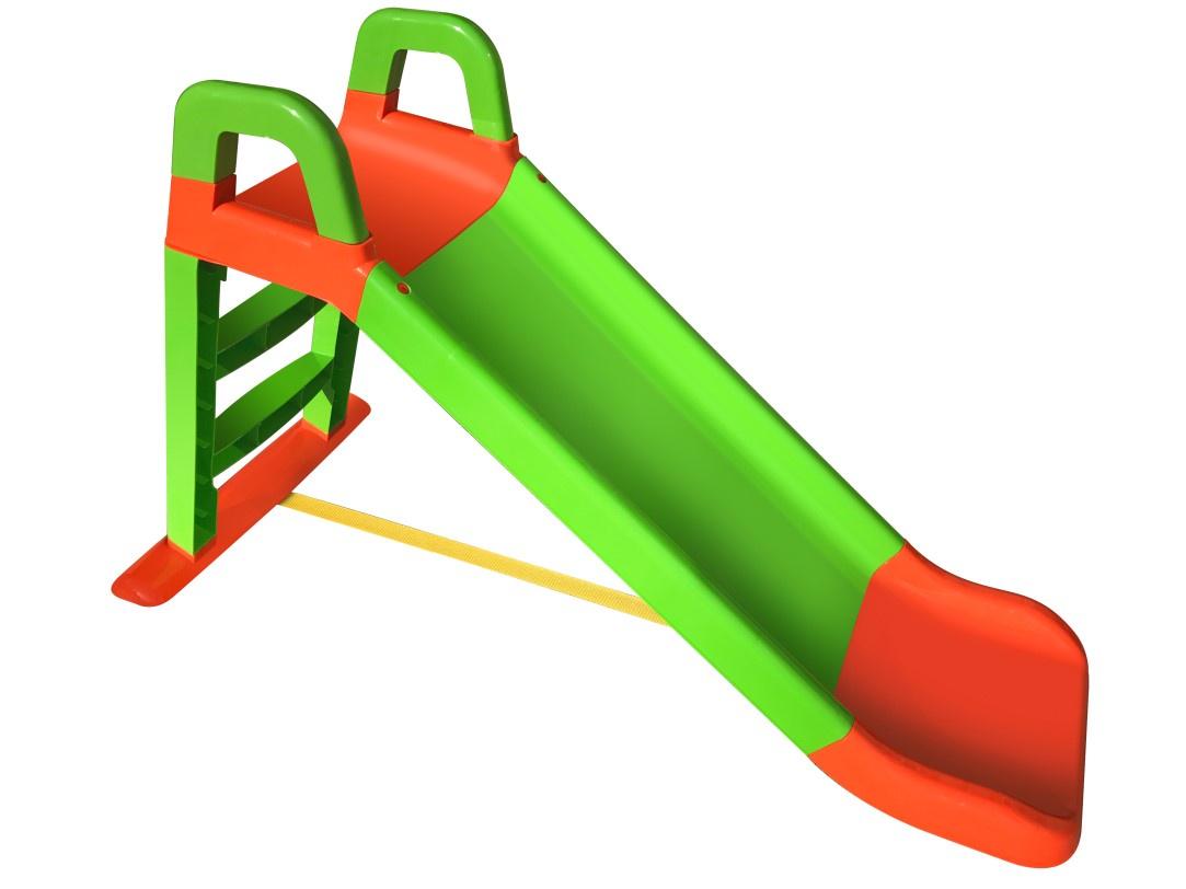 Детская горка Doloni Развлечение красный, зеленый