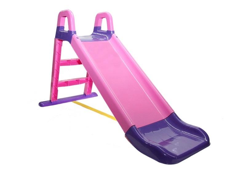 Детская горка Doloni Развлечение фиолетовый, розовый детская горка doloni развлечение желтый синий