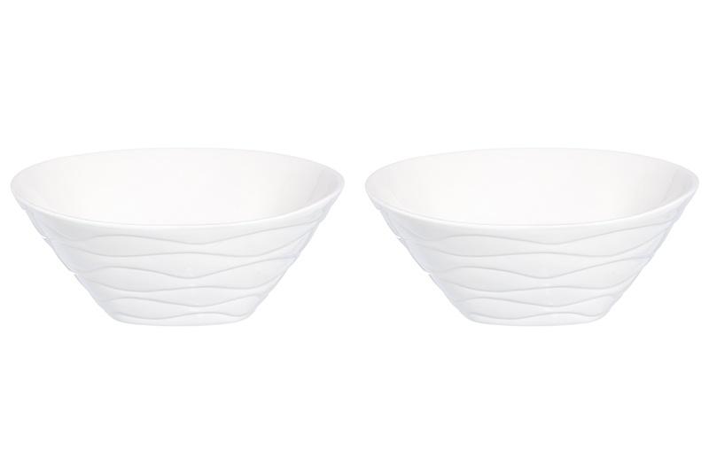 Набор салатников 2 предмета 16,5х16,5х6,5 см 650 мл Elan Gallery Айсберг