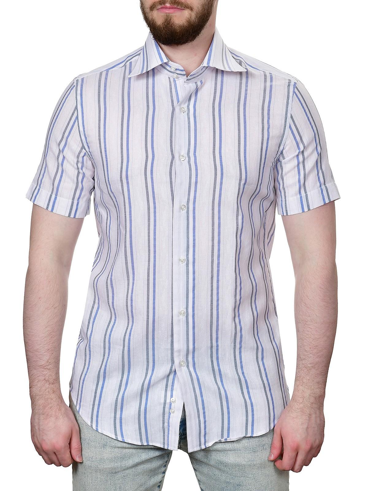 Фото - Рубашка Fayzoff S.A. мужская классическая рубашка dermay slim fit 4xl camisa masculina 6colors dm03241827