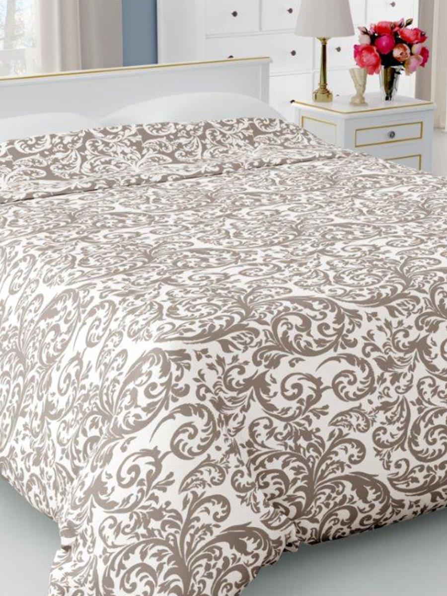 Покрывало DeНАСТИЯ Покрывало на кровать, 190*220 см, коричневый
