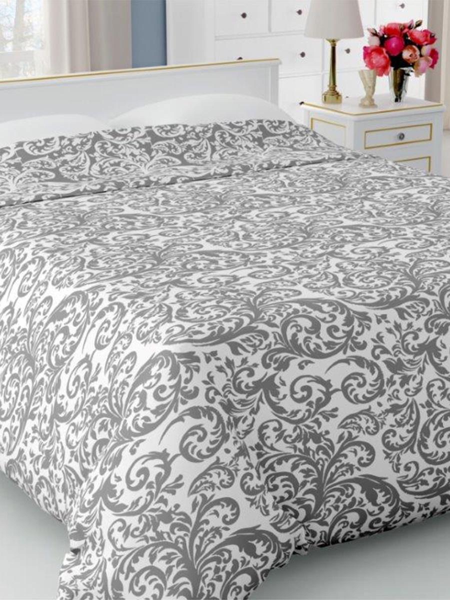 Покрывало DeНАСТИЯ Покрывало на кровать, 190*220 см, серый