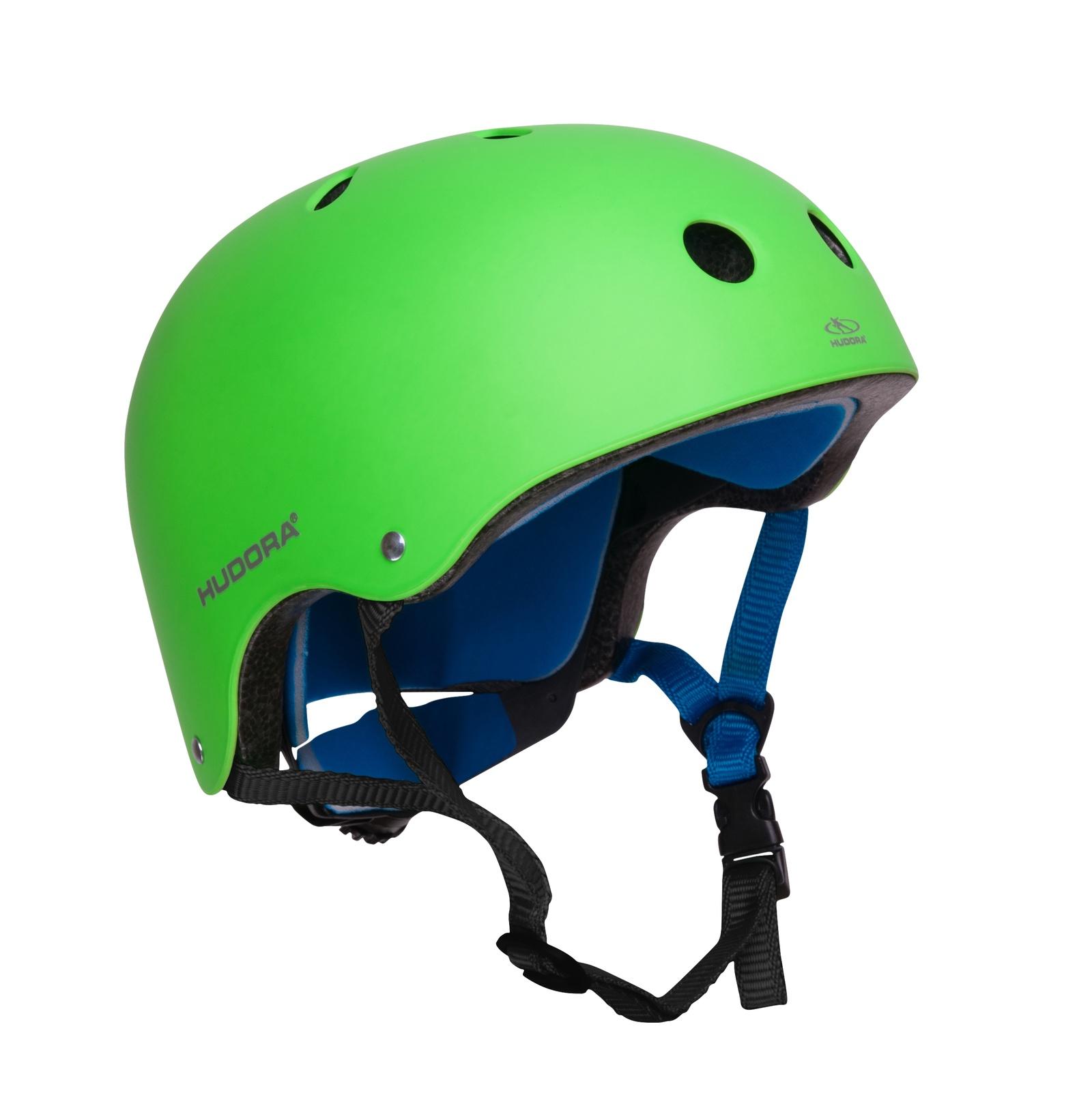Велошлем HUDORA Helmet green, зеленый Hudora