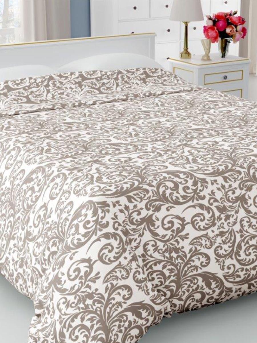Покрывало DeНАСТИЯ Покрывало на кровать, 200*240 см, коричневый