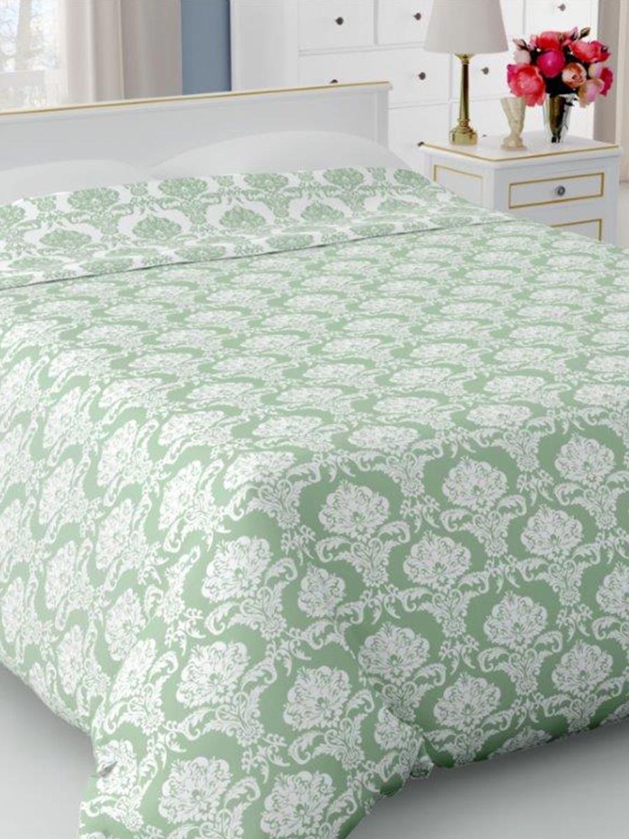 Покрывало DeНАСТИЯ Покрывало на кровать, 260*240 см, зеленый