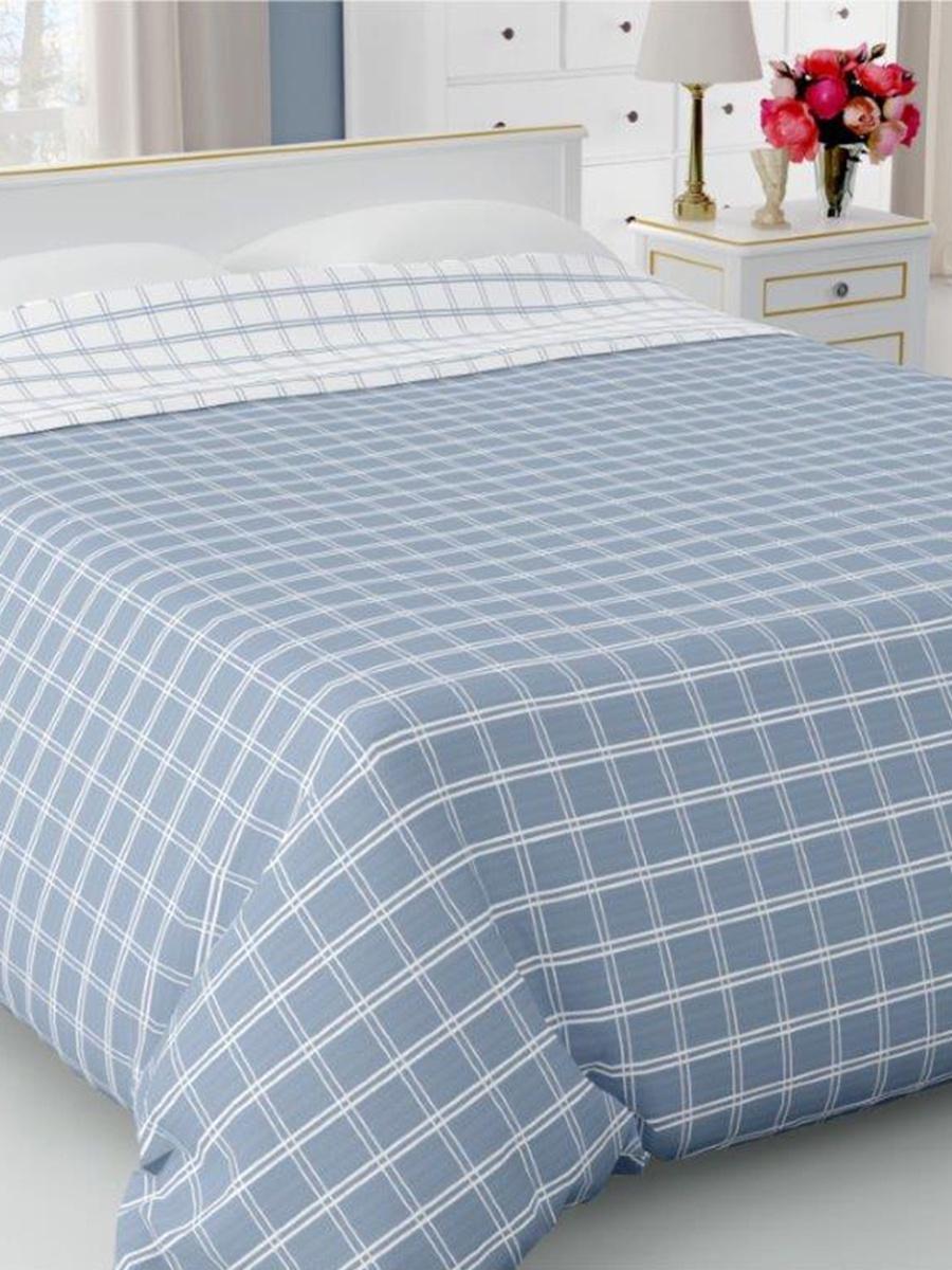 Покрывало DeНАСТИЯ Покрывало на кровать, 260*240 см, синий