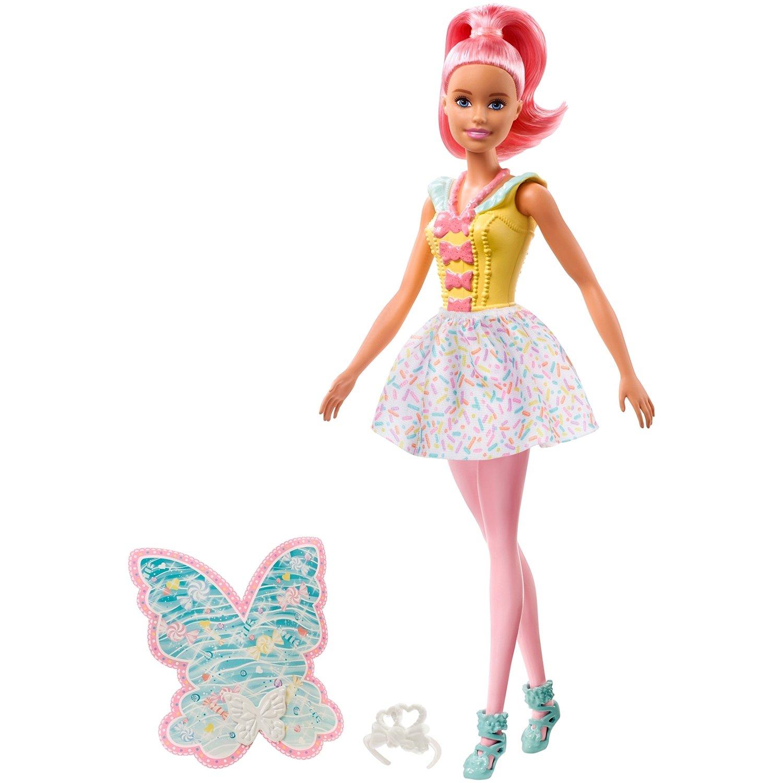 Игровой набор Barbie Кукла Barbie Dreamtopia Фея Обновленная, FXT03