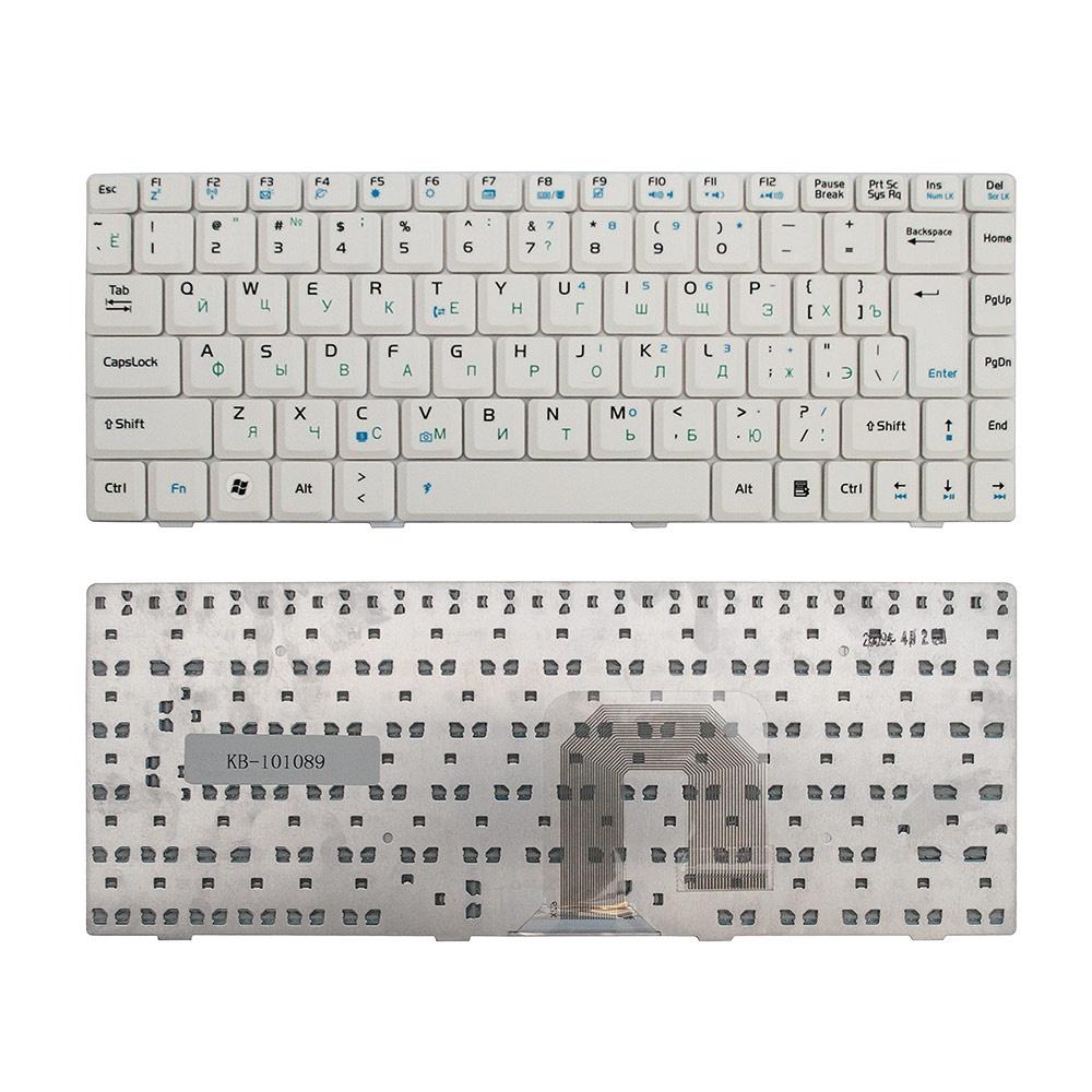 Клавиатура TopOn Asus U3, U6, F9, F6, F6A Series. Г-образный Enter. Без рамки. PN: K030462Q1, 04GNER1KRU00., KB-101089, черный