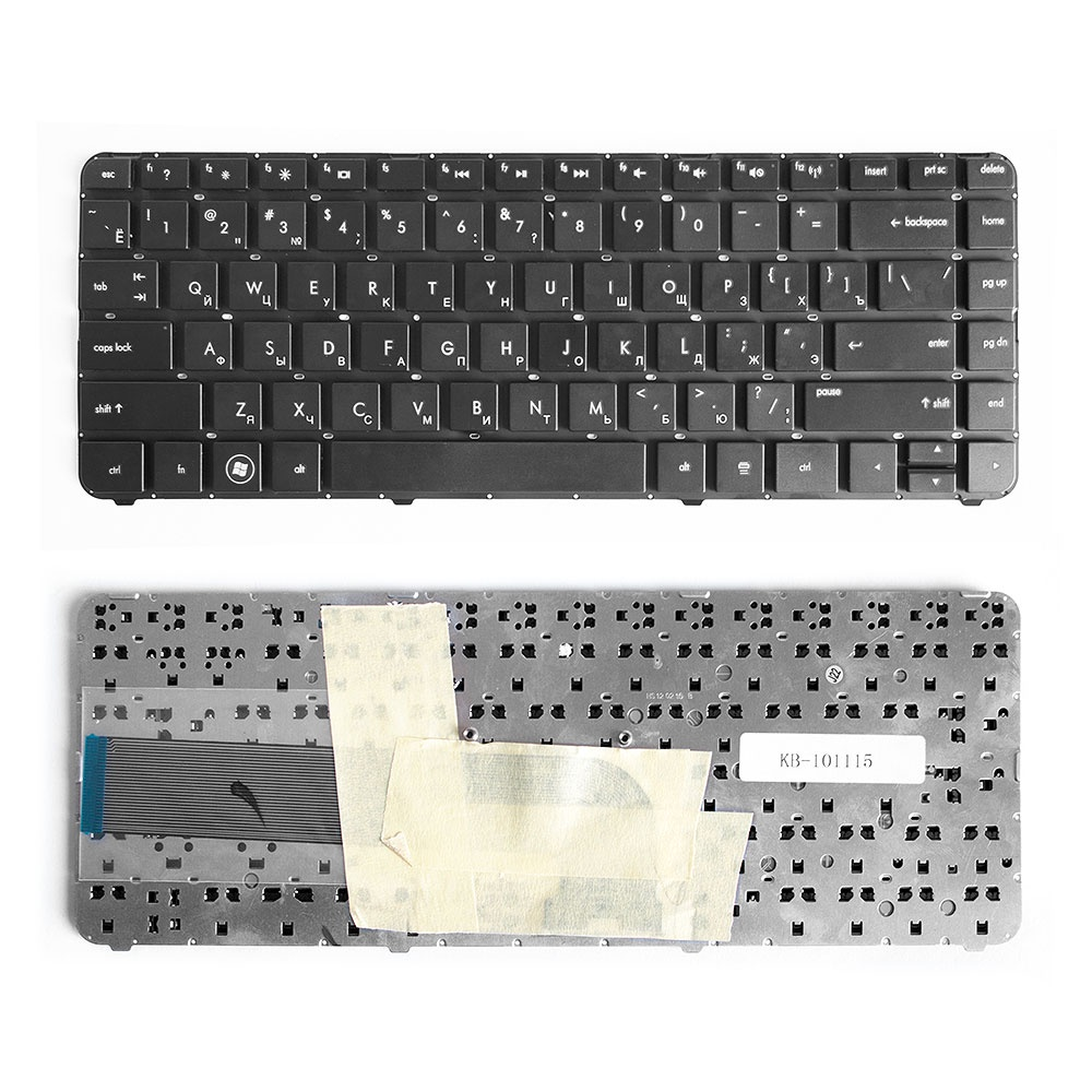 Клавиатура TopOn HP Pavilion DV4-3000, DV4-3100, DV4-3200 Series. Плоский Enter.Без рамки. PN: Z.N6JUF.00R, MP-10N33SU-6886., KB-101115, черный клавиатура topon hp envy 4 1100 4 1200 6 1000 series pn 698679 001 698679 251 kb 102437 черный
