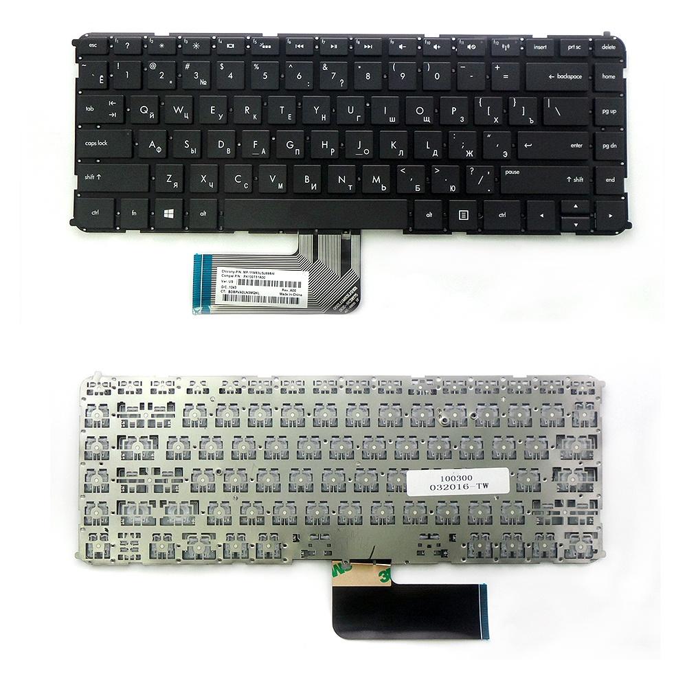 Клавиатура TopOn HP Envy 4-1000, 4-1100, 4-1200, 6-1000 Series. Плоский Enter. Без рамки. PN: 698679-001, 698679-251., TOP-100300, черный клавиатура topon hp envy 4 1000 4 1100 4 1200 6 1000 series плоский enter без рамки pn 698679 001 698679 251 top 100300 черный