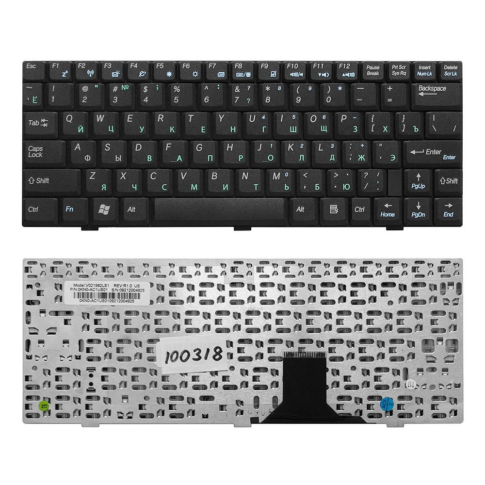 Клавиатура TopOn Asus U1, U1F, U1E, U2 U2E Series. Плоский Enter. Без рамки. PN: V021562CK1, 04GNLV1KRU00., TOP-100318, черный клавиатура topon asus n46 u37 u47 series плоский enter без рамки pn 9z n8abq g01 13gn8e1am030 1 top 100364 черный
