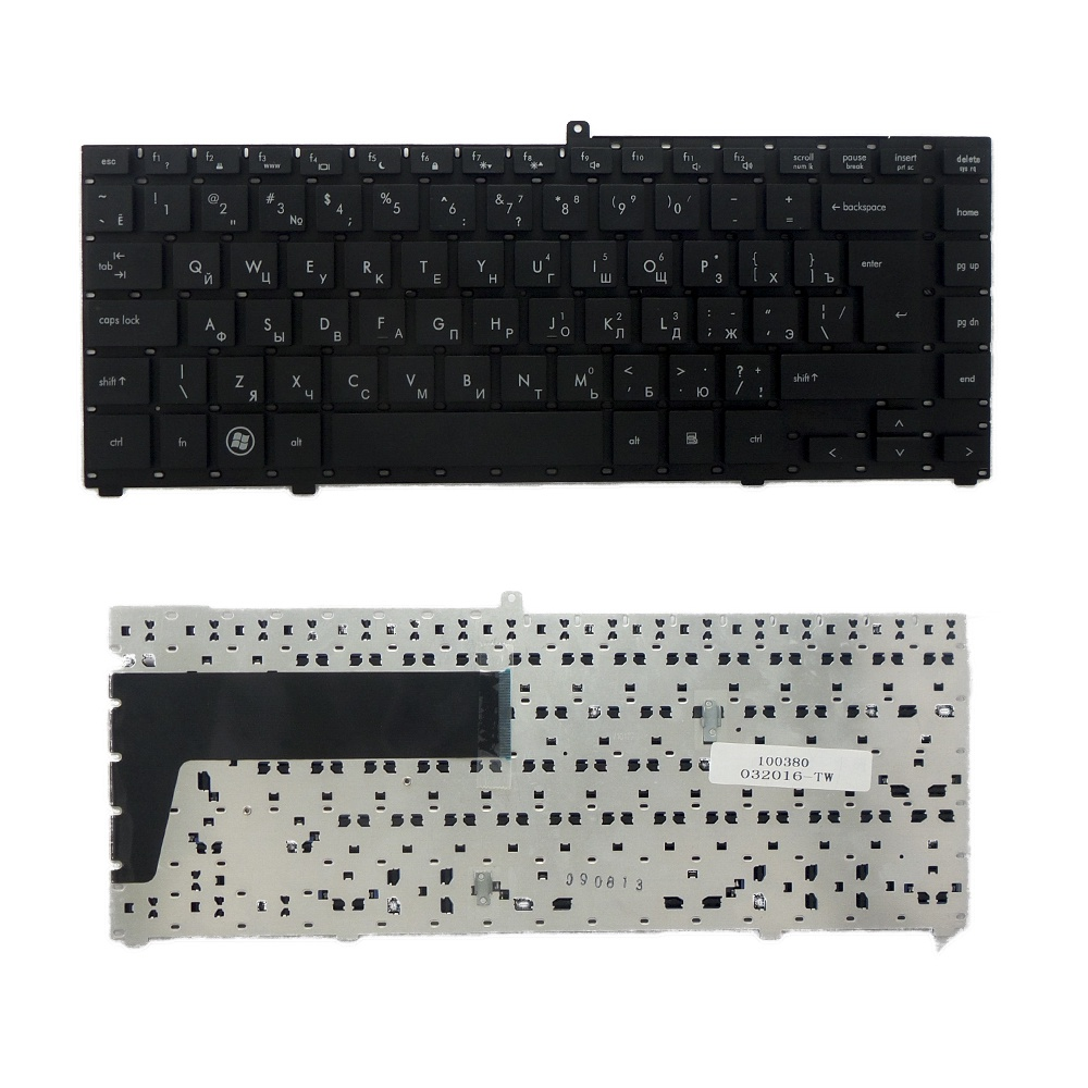 Клавиатура TopOn HP ProBook 4410s, 4411s, 4413s, 4415s, 4416s Series. Г-образный Enter. Без рамки. PN: 574482-251, V101726AS1., TOP-100380, черный 585219 001 for hp probook 4415s 4515s 4416s motherboard 4510s notebook for hp probook 4415s notebook for amd free shipping