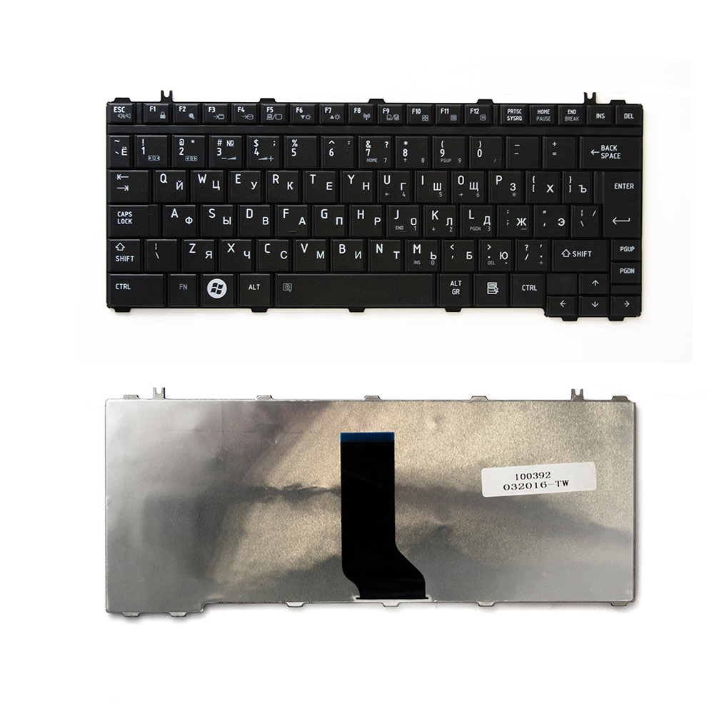 Клавиатура TopOn Toshiba Satellite A600, T130, T135, U400, U405, U500 Series. Г-образный Enter. Без рамки. PN: V101462AK1, 0KN0-VG1RU01, TOP-100392, черный bork u400