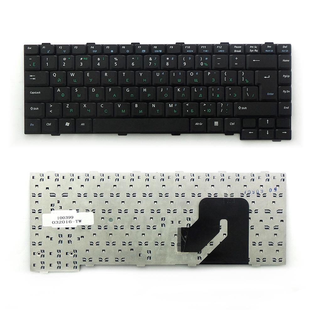 Клавиатура TopOn Asus W2, W2J, W2Jb, W2Jc, W2P, W2000 Series. Г-образный Enter. Без рамки. PN: K020362H2, 04GNCQ1KRU11., TOP-100399, черный все цены