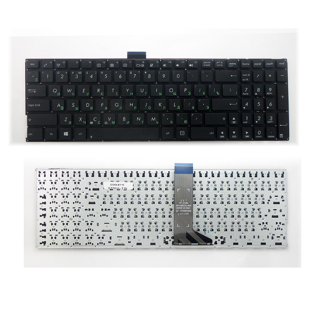 Клавиатура TopOn Asus X553, X553M, X553MA, X553S, X553SA Series. Плоский Enter. Без рамки. PN: 0KNB0-6122FR0Q, 9Z.N8SBQ.Q0V., TOP-100495, черный клавиатура topon asus t200 t200t t200ta series плоский enter без рамки pn 0knb0 1105ru00 kb 101059 черный
