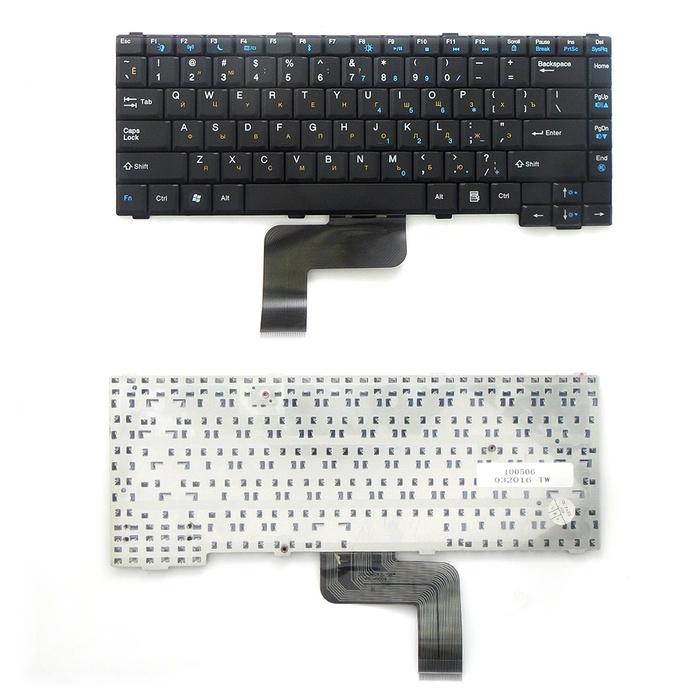 цена на Клавиатура TopOn Gateway MX6919, MX6920, MX6930, CX2700, M255. Плоский Enter. Без рамки. PN: V030946BS1, K030946P1., TOP-100506, черный