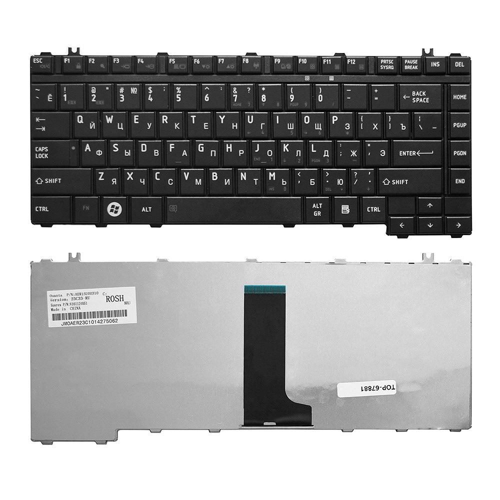 Клавиатура TopOn Toshiba Qosmio F50, Satellite A200, A205, A210, A215, A300 Series. Плоский Enter. Без рамки. PN: NSK-TAJ01., TOP-67881, черный плеер ru mp