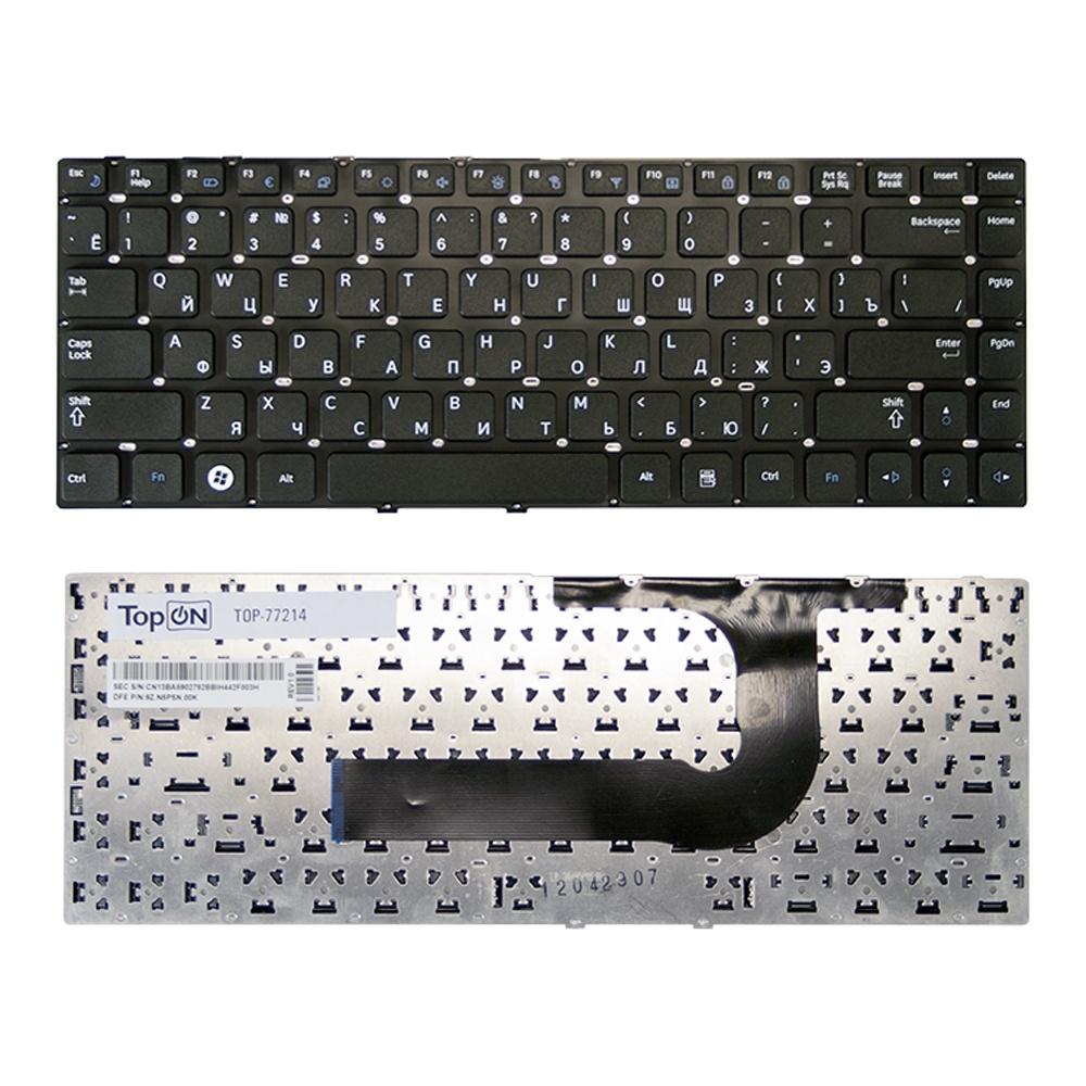 цена на Клавиатура TopOn Samsung Q430, QX410, SF410 Series. Плоский Enter. Без рамки. PN: BA59-02792D, CNBA5902792CBIH., TOP-77214, черный