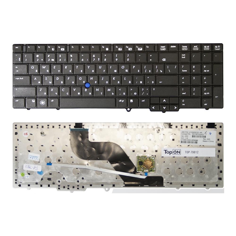 Фото - Клавиатура TopOn HP Probook HP ProBook 6540b, 6545b, 6550b, 6555b Series. Плоский Enter. Без рамки. PN: NSK-HHM0R, 9Z.N3F82.M0R., TOP-79812, черный аккумуляторная батарея topon top 6730b 4400мач для ноутбуков hp compaq probook 6440b 6445b 6450b 6530b 6535b 6540b 6545b 6550b 6555b 6730b 6735b 6930p elitebook 8440p 8440w