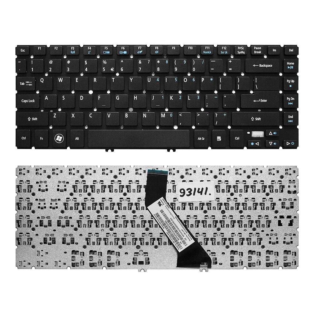 Клавиатура TopOn Acer Aspire V5-431, V5-471, M3-481, M5-481 Series. Г-образный Enter. Без рамки. US PN: NSK-R2SSW 0R, 9Z.N8DBW.H0R., TOP-93141, черный nsk повседневные брюки