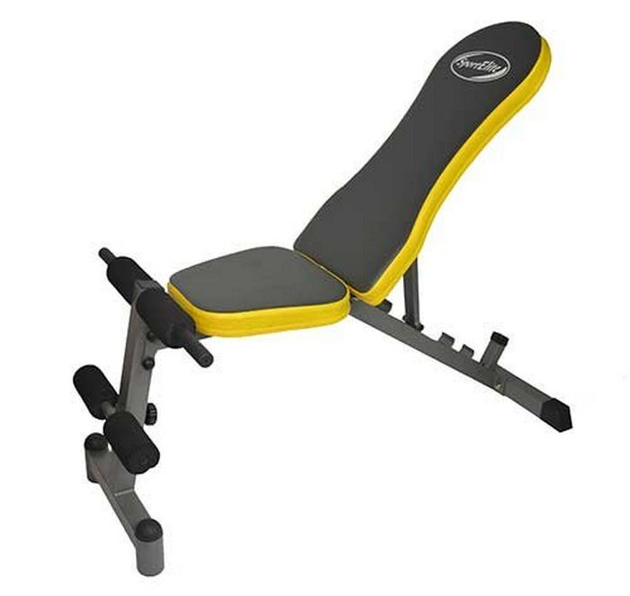 Тренажер для отдельных групп мышц Sport Elit SE808, SE808, желтый, черный цены