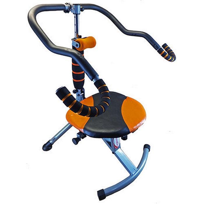 Тренажер для отдельных групп мышц Sport Elit GB-9160, черный, оранжевый цена