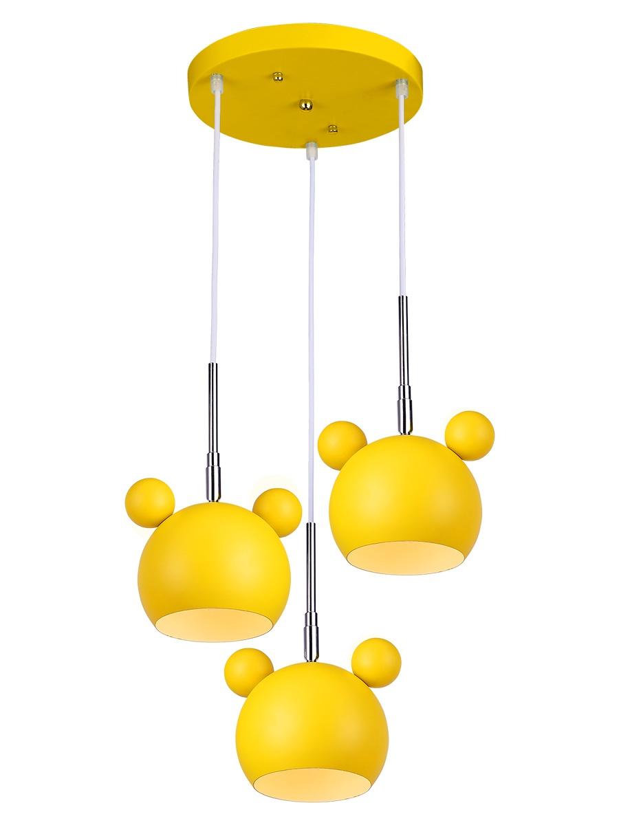 цена на Подвесной светильник Lumin'arte PANDA, PANDA-PL40E27-3YL, желтый