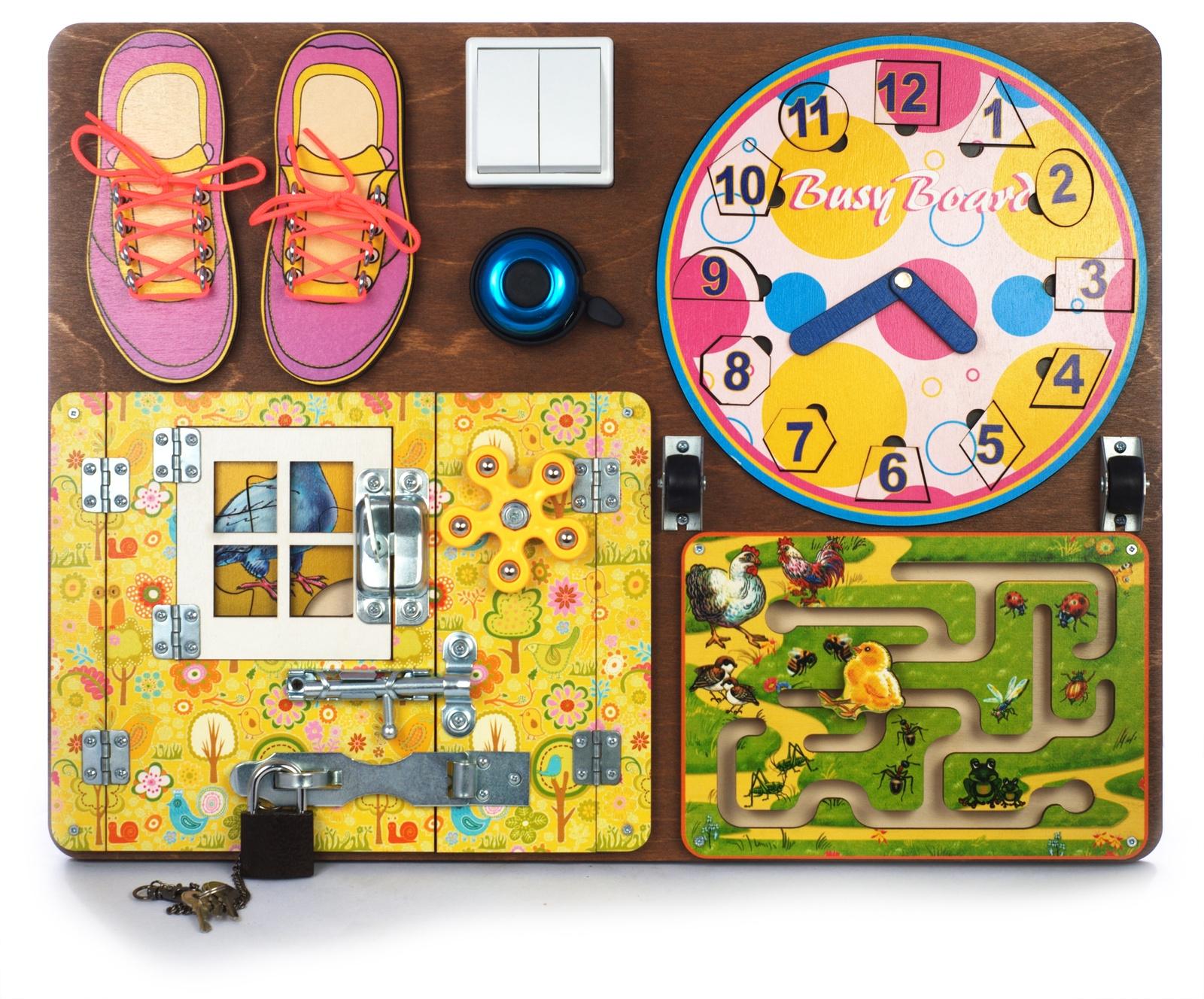 Бизиборд Нескучные игры BusyBoard. Развивающая доска №2 , 7903