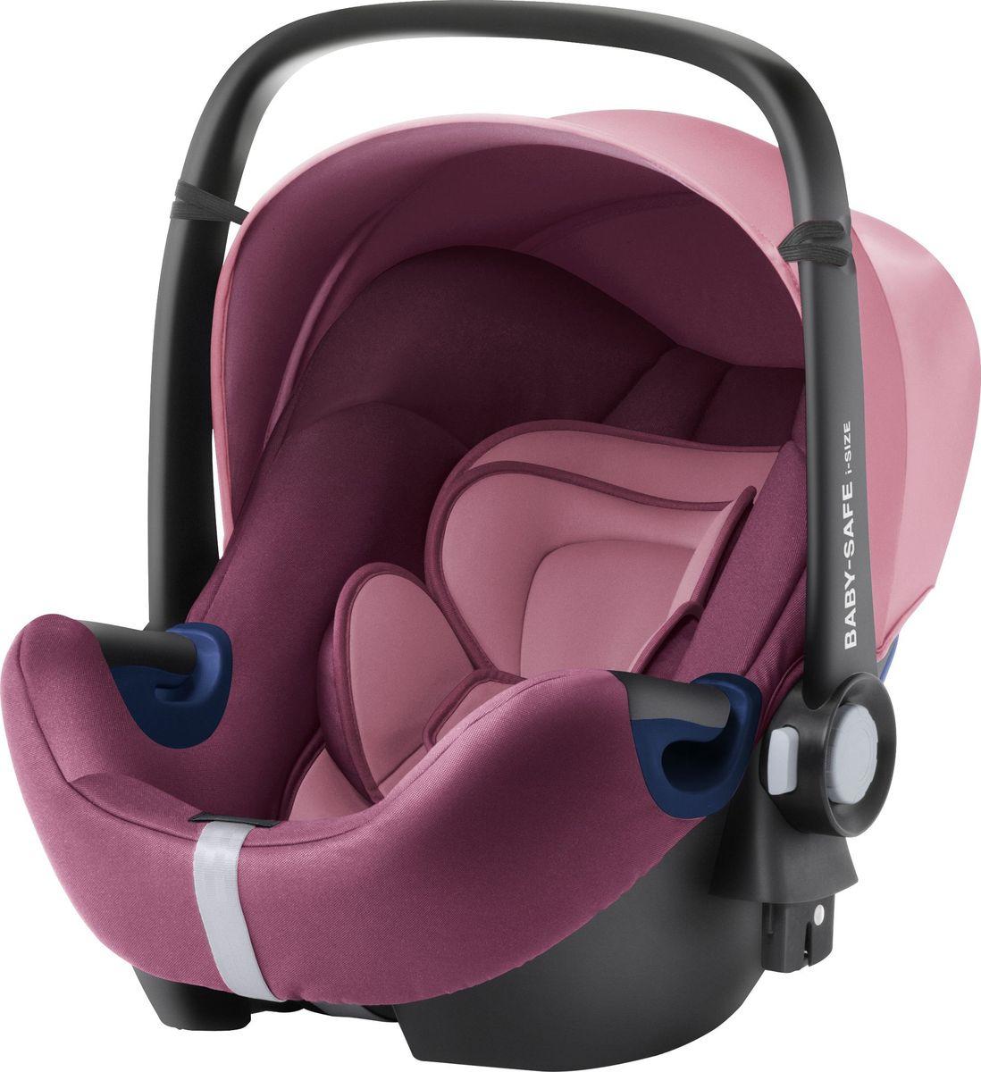 Автокресло Britax Roemer Baby-Safe2 I-Size Wine Rose Trendline, розовый детское автокресло baby safe2 i size coral peach trendline