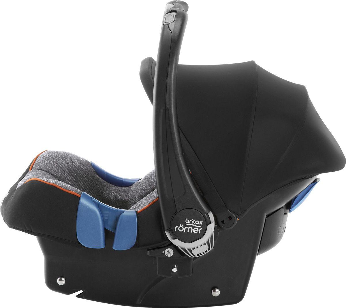 Автокресло Britax Roemer Baby-Safe Plus Shr II Black Marble Highline, черный BRITAX ROEMER