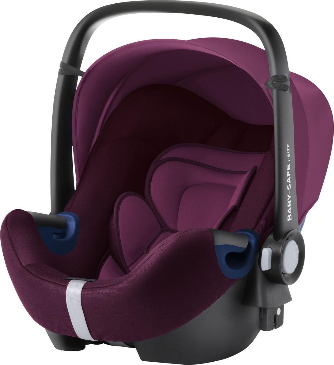 Автокресло Britax Roemer Baby-Safe2 I-Size Burgundy Red Trendline, красный детское автокресло baby safe2 i size coral peach trendline