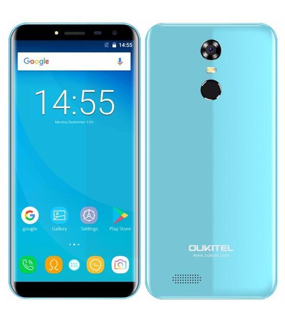 Смартфон Oukitel C8 2/16GB, синий сотовый телефон oukitel c8 4g black