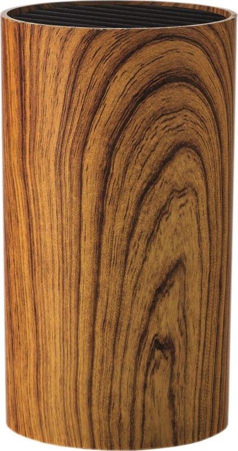 Подставка для ножей Walmer Aspen Wood, коричневый, 9 х 9 х 16 смW08002306