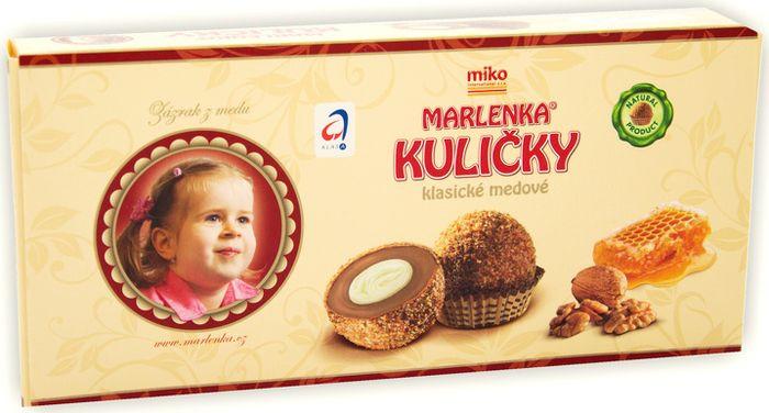 Пирожное Marlenka Шарики медовые, 235 г