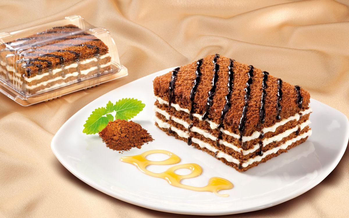 Торт Marlenka Медовый с какао, 100 г торт marlenka медовый с какао 100 г