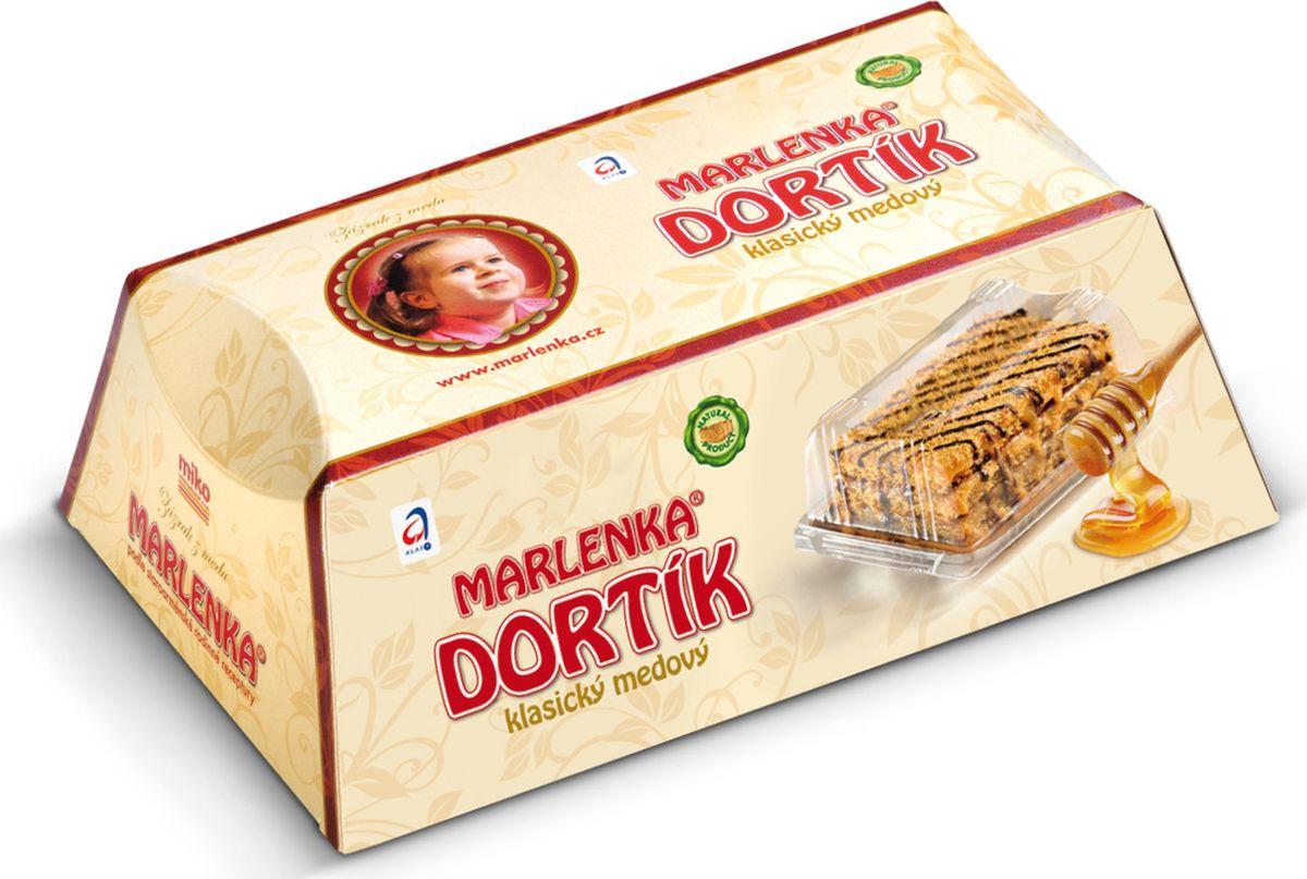 Торт Marlenka Медовый, 100 г торт marlenka медовый с какао 100 г